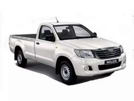 Hillux Bakkie for Hire or Contract