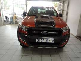RED FORD RANGER D/CAB 3.2 6- AUTO
