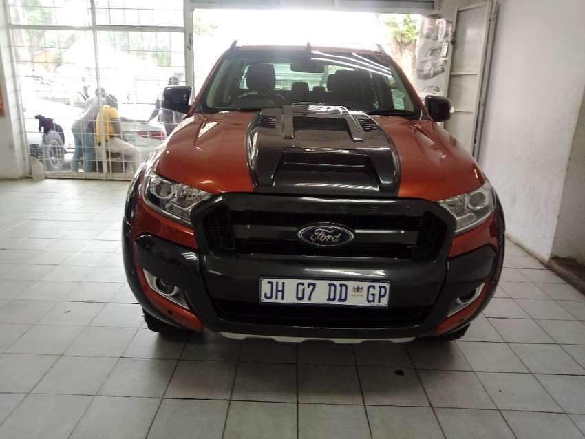 RED FORD RANGER D/CAB 3.2 6- AUTO 0