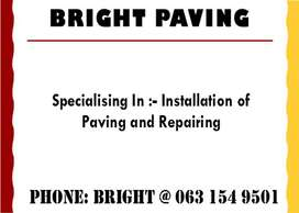 SPECIALISING IN INSTALLATION AND REPAIRS OF PAVING