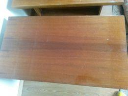PRL ława stołowa wysoki połysk