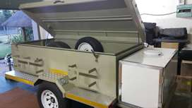 Custom build trailer, fully licensed. R25000 (neg)