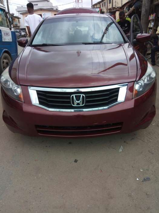 Foreign used Honda accord 2008 0