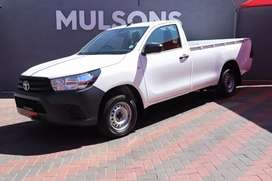 2021 Toyota Hilux 2.4 gd6 single cab, manual with Aircon.