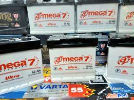 Akumulator Megatex A-Mega Amega Ultra 7 50Ah 480A CA530 C30 Ukraina