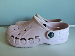Różowe Crocs! Crocsy! Klapki! Kultowe obuwie! Rozmiar 1J3