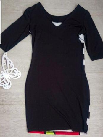 Sukienka dopasowana myszka miki M 38 elastyczna nowa Inowrocław - image 2