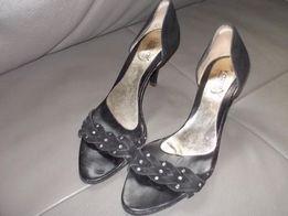 Kazar szpilki sandałki skórzane buty pantofle okazja!