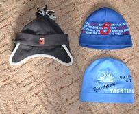 Две деми шапки в отличном состоянии на 1-3 года