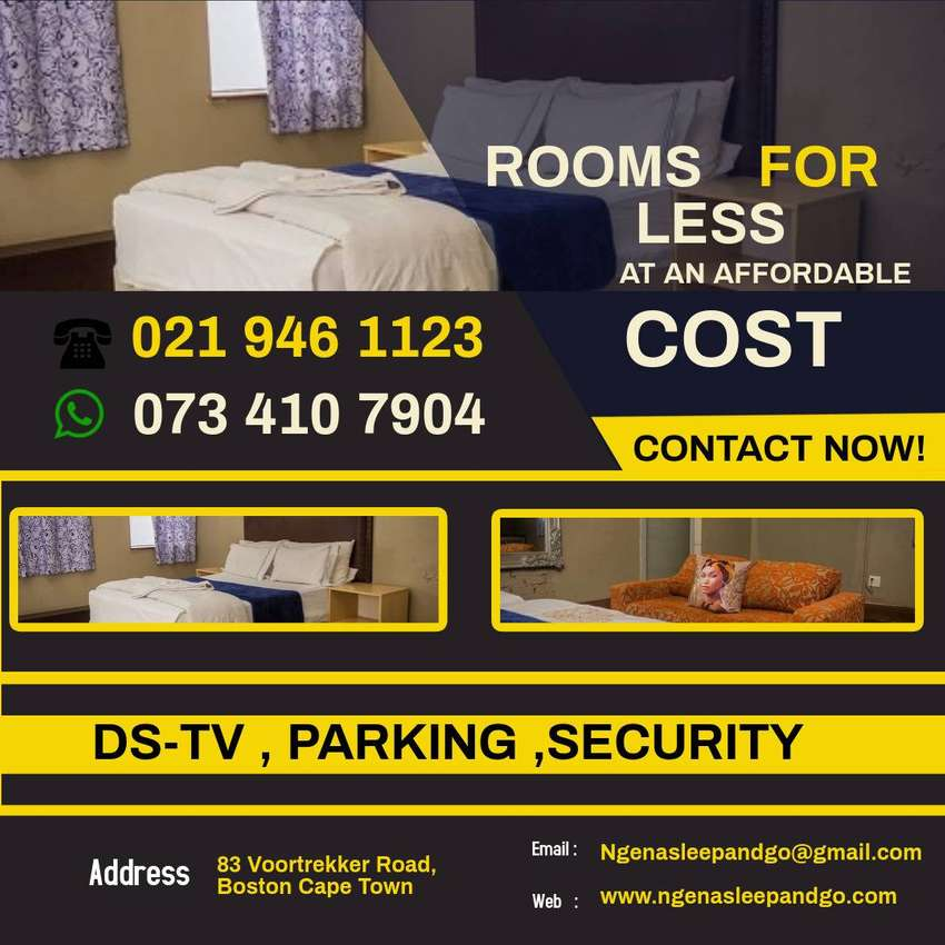 Rooms at an affordable price book now, for a short  stay. 0