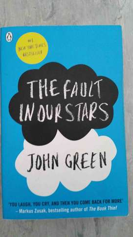 The Fault in our stars - John Green book
