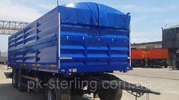 Тент ПВХ от Производителя на зерновоз, прицеп из ПВХ Германия 680D