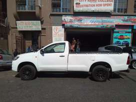 Toyota Hilux single cab for SALE.