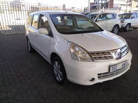 Nissan livina 1.8 7seaters
