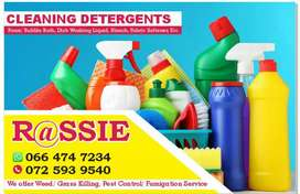Domestic cleaning material