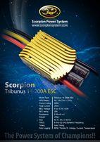 Регулятор оборотов БК двигателя Scorpion Tribunus II 14-200A ESC