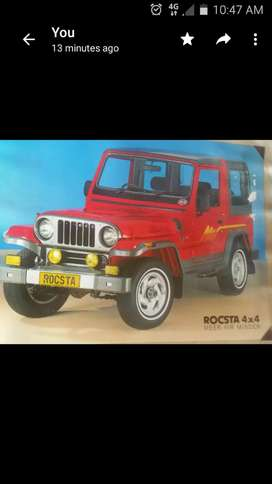 Rocta jeep front door glass