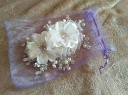 Свадебное украшение (заколка)для волос
