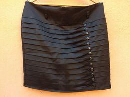 Женская атласная юбка, в идеале, 48-50 размер,смотрим замеры