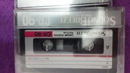 Аудиокассеты Sound Breeze CR-90 chrome Japan , новые запечатаные