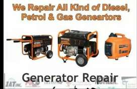 Petrol and Diesel Generator Repairs