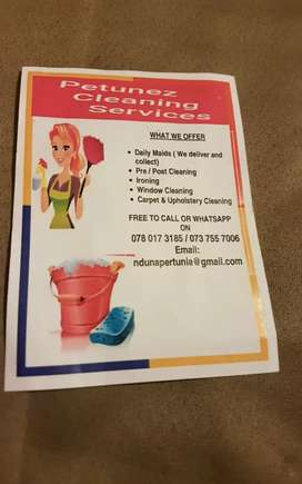Petunez cleaning services