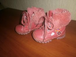 Ботинки 21 размер на девочку