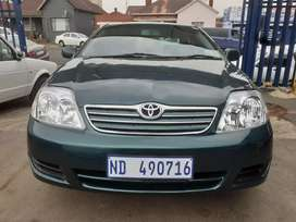 2006 Toyota Corolla (1.4) Manual with Service Book