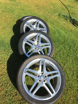Mercedes Benz 21'' AMG line rims for sale