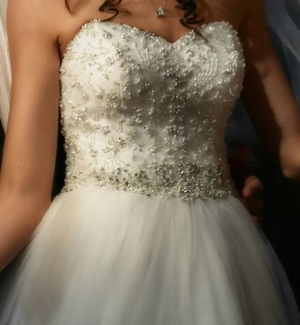 Suknia ślubna Justin Alexander 8724 rozm. 34 Strzelce Opolskie - image 1