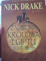powieść ZAGINIONA KRÓLOWA Egiptu N. Drake