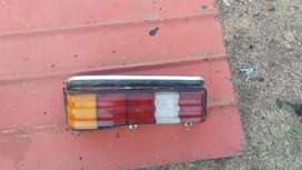 Mercedes Benz 123 series tail light and headlights for sale.