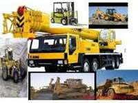 Image of Forklift machinery training operators mobile crane excavator dumptruck