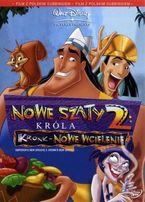 DVD 2 szt bajki Nowe szaty króla 2 Szeregowiec Dolot Disney