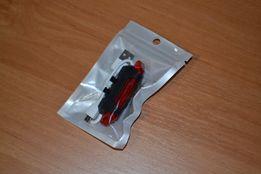 Габарит на велосипед Велосипедная мигалка задняя с USB DC-918 красная