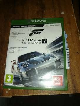 Forza 7 Motorsport Xbox One for sale, price negotiable.