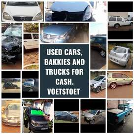 200 vehicles wanted urgently