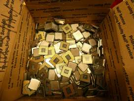 We offer a wide rage of high yield gold recovery for computer scrap