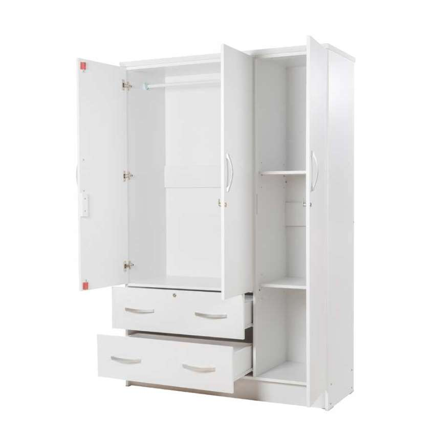 3door wardrobe with 2 drawers for R2699-(YOU CAN PAY AT HOME) 0