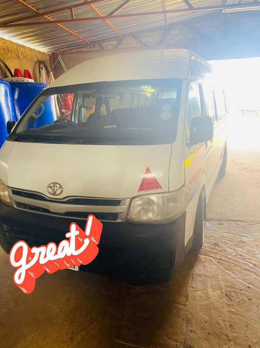 Two Toyota Quantums for sale