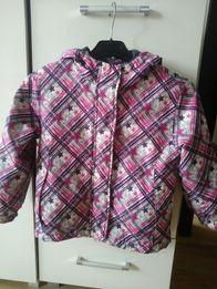 Firmowa kurtka na zime roz.110/116