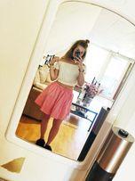 Różowa spódniczka H&M nowa, rozm 36 i 38