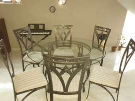 6 seater dining suite set