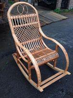 Кресла - качалки из бука и лозы