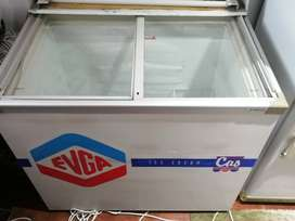 Sliding Glass Top Freezer