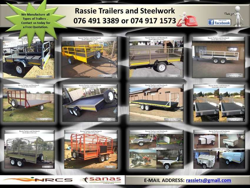 Trailers for sale NRCS approved 0