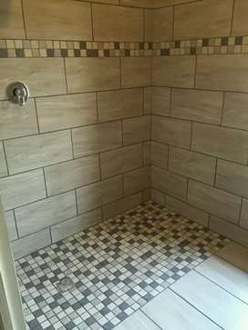 For professional tiling service with exclusive design contact James