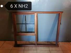Selling awnings wooden windows