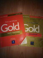 Zestaw do angielskiego Gold first certifikat coursbook exam maximiser
