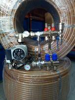 Колектор труба теплого пола,гребенка для водяного пола Чехия.